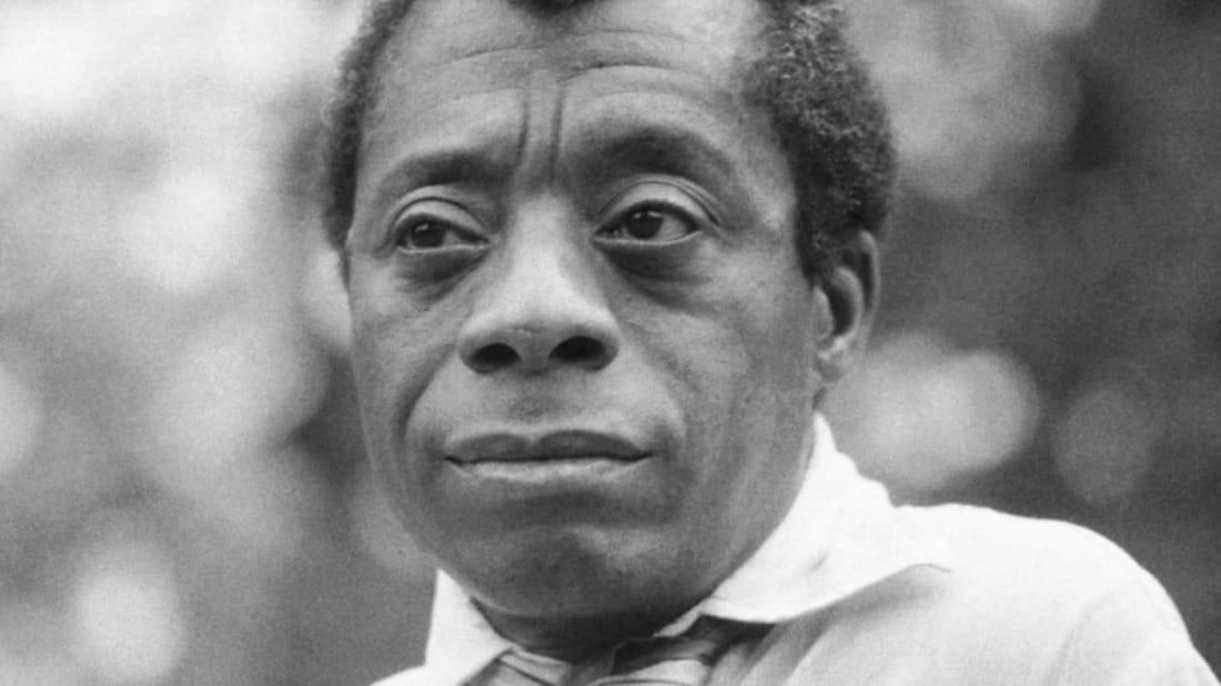James Baldwin in London in 1969.