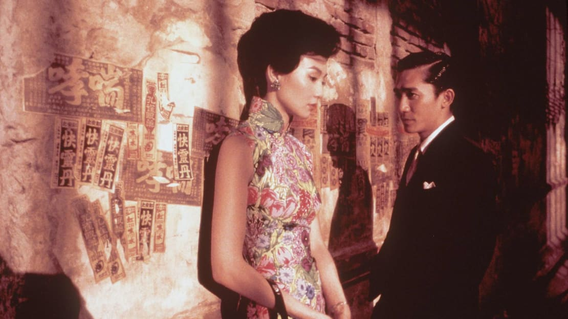 Wong Kar-Wai's In The Mood For Love (2000), starring Maggie Cheung and Tony Leung, is Hong Kong's most popular film.