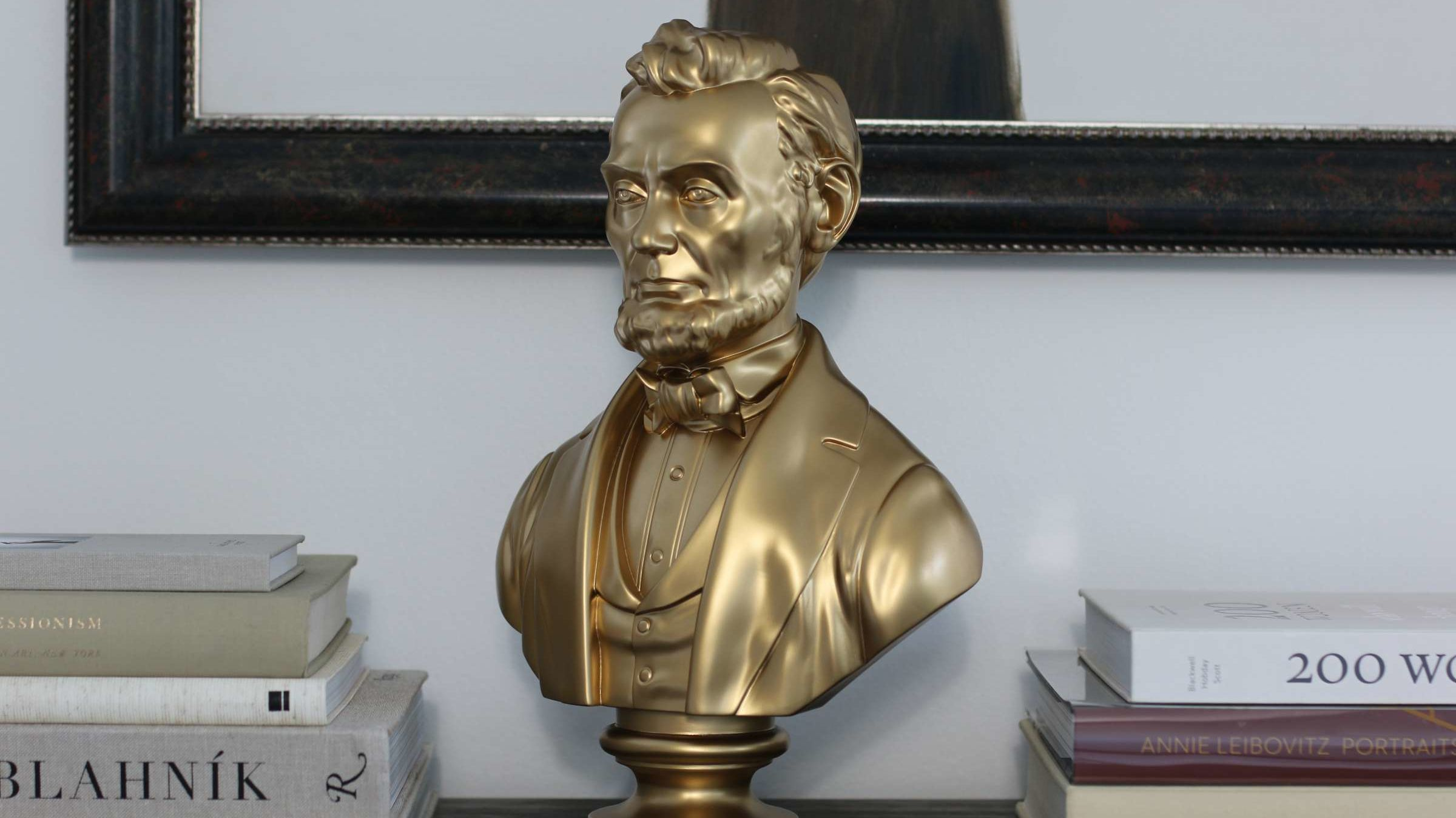 Decorate Your Home With Hand-Sculpted Busts of Abraham Lincoln, Barack Obama, and More