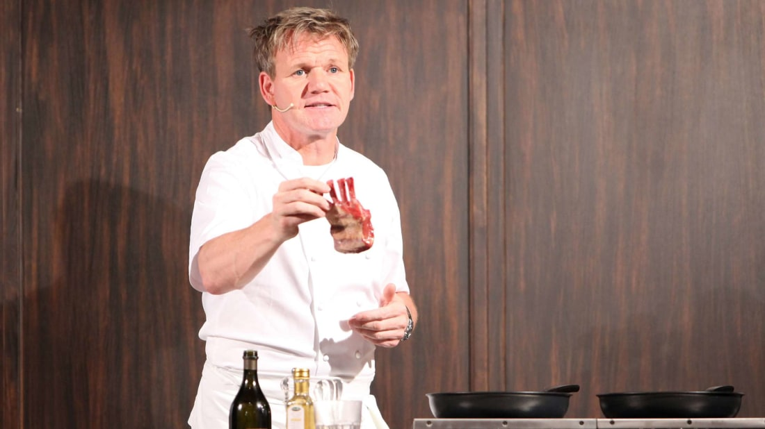 Chef Gordon Ramsay is just one of the professionals lending their knowledge to a MasterClass course.