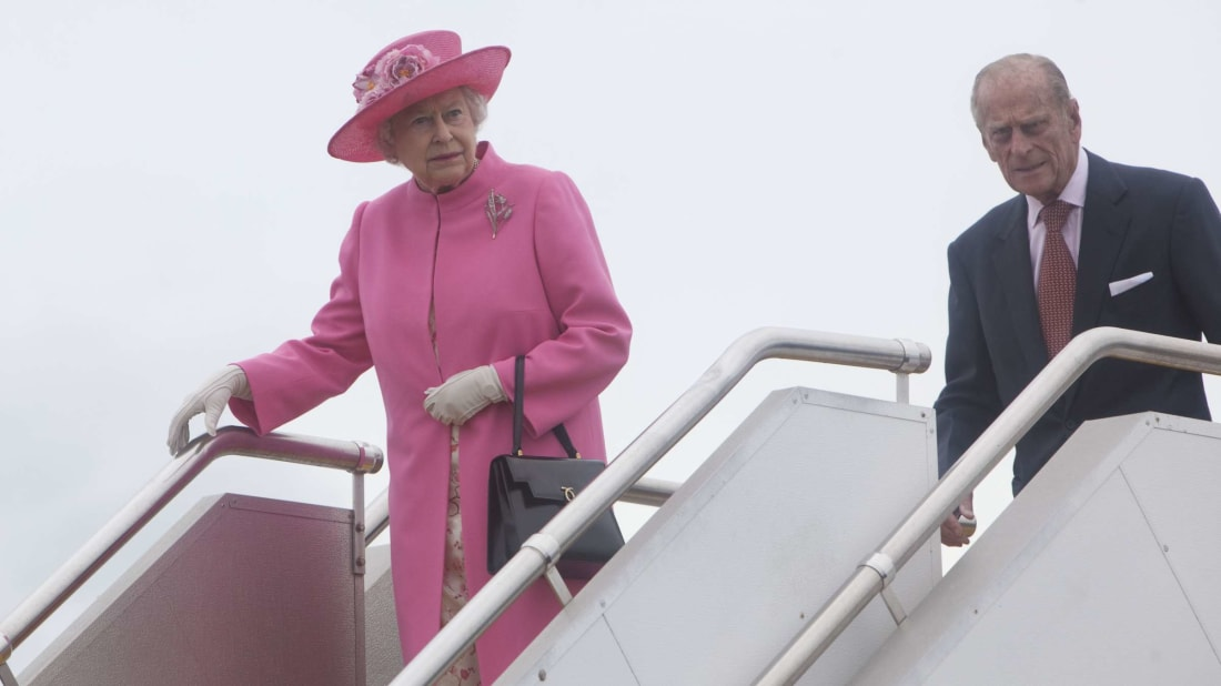 It could be your job to make sure the Queen knows what time her flight is.