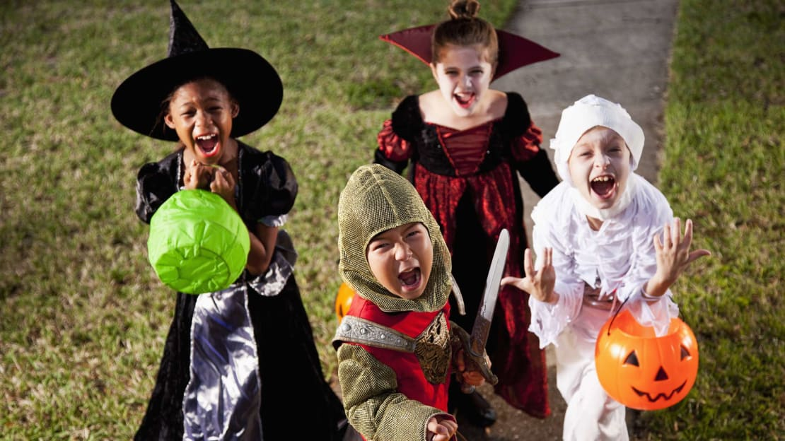 """""""Give us candy, or else!"""""""