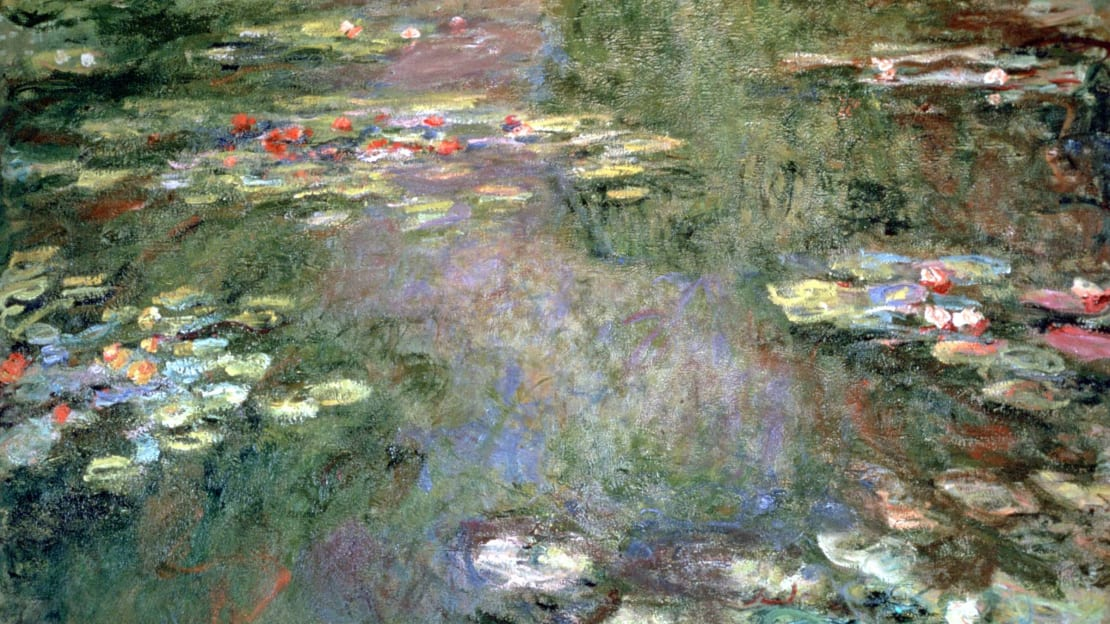 One of Claude Monet's Water Lilies pieces, circa 1925.