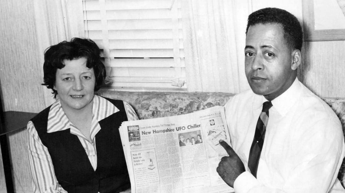 Betty and Barney Hill claimed they were abducted by aliens on September 19, 1961.