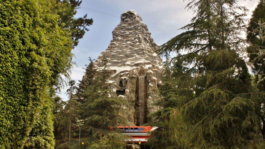 The Secret Basketball Court Hidden Inside Disneyland's Matterhorn Mountain