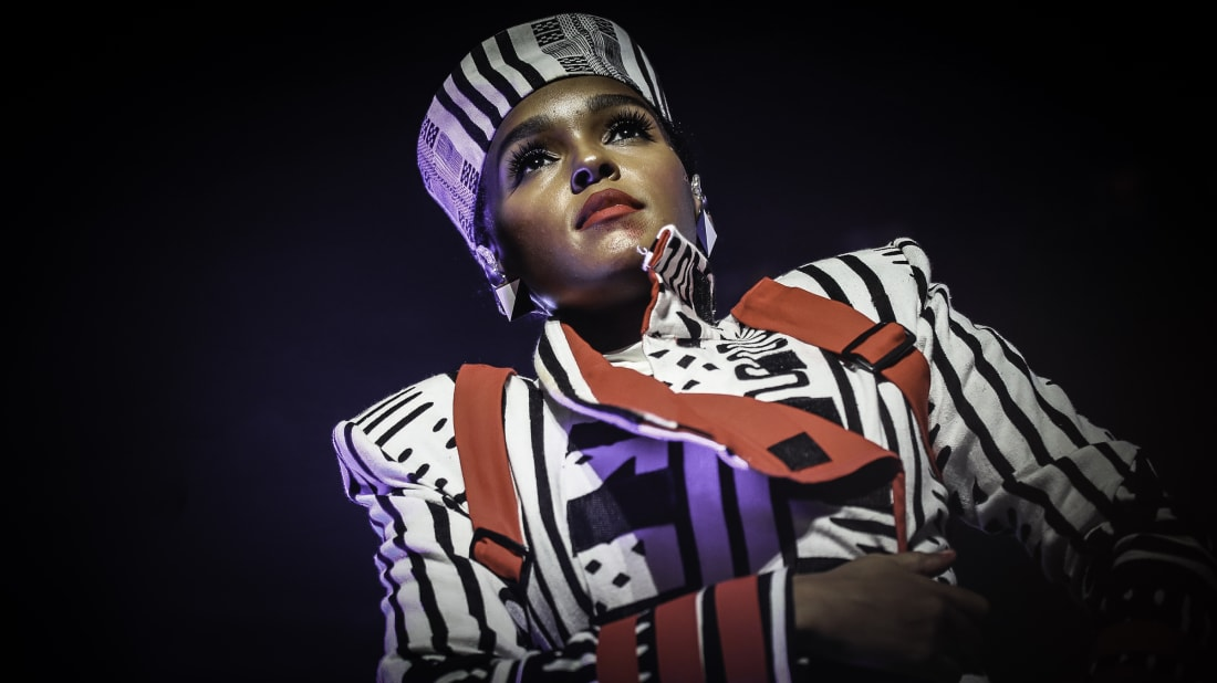 Janelle Monáe performs at the State Theatre in Minneapolis in 2018.