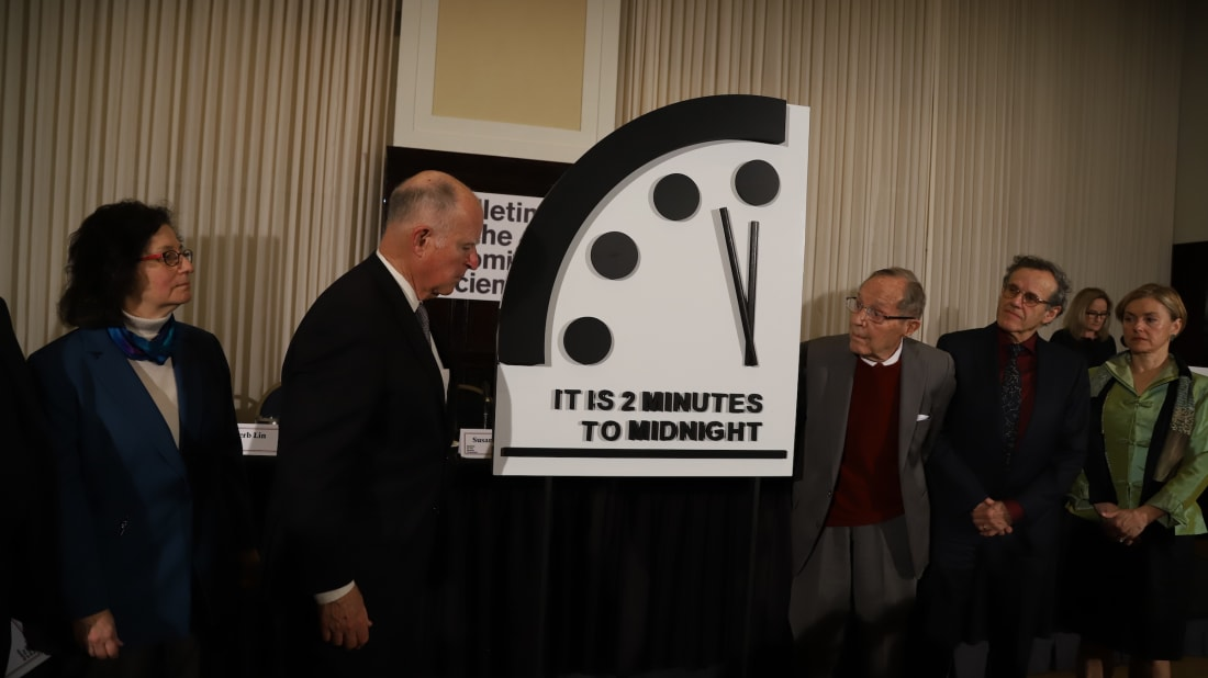 11 Times The Doomsday Clock Time Has Been Adjustedand Why