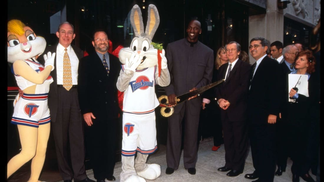 While you probably loved Space Jam as a kid, critics were far less enchanted with the thought of Michael Jordan playing hoops with Elmer Fudd.