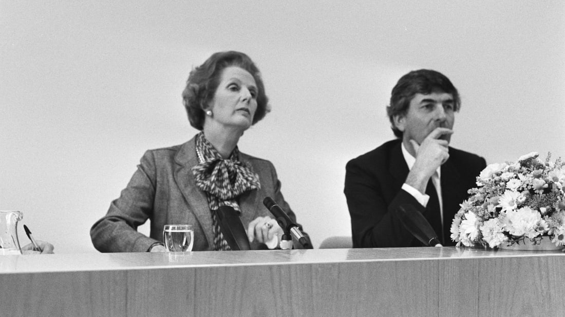 Margaret Thatcher in 1983.