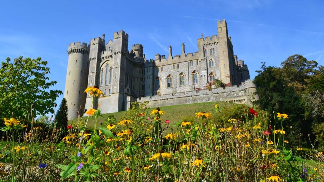 Arundel Castle, the scene of the crime.