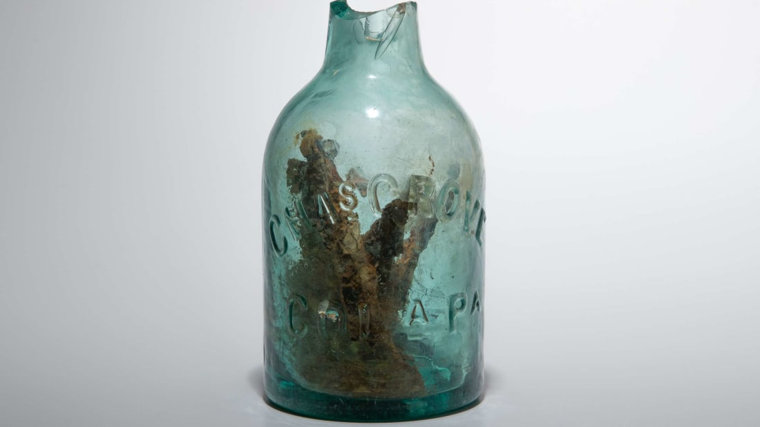 Civil War-Era 'Witch Bottle' Used to Keep Evil Spirits at Bay Discovered in Virginia