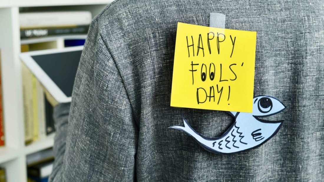 What's a fish got to do with April Fools' Day?