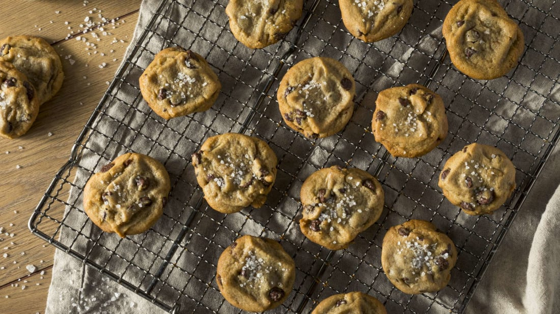 Chocolate chip cookies have never tasted better.