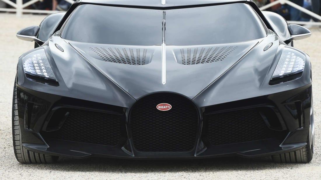 The Bugatti La Voiture Noire.