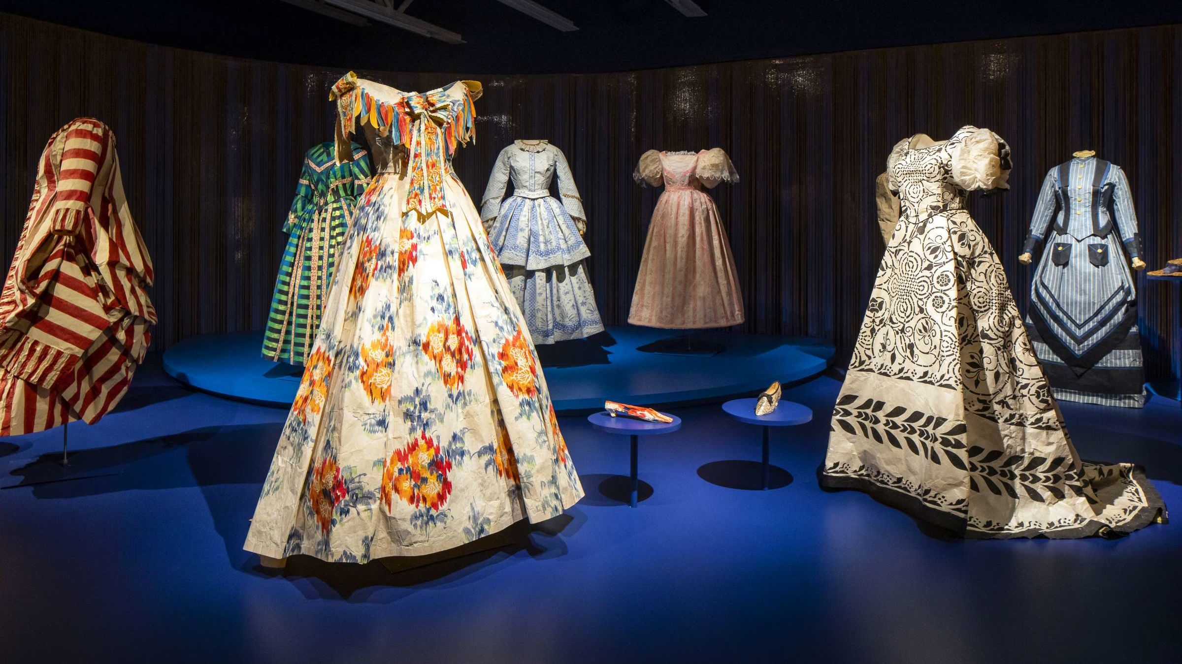 Historical Fashion Made From Paper Mental Floss