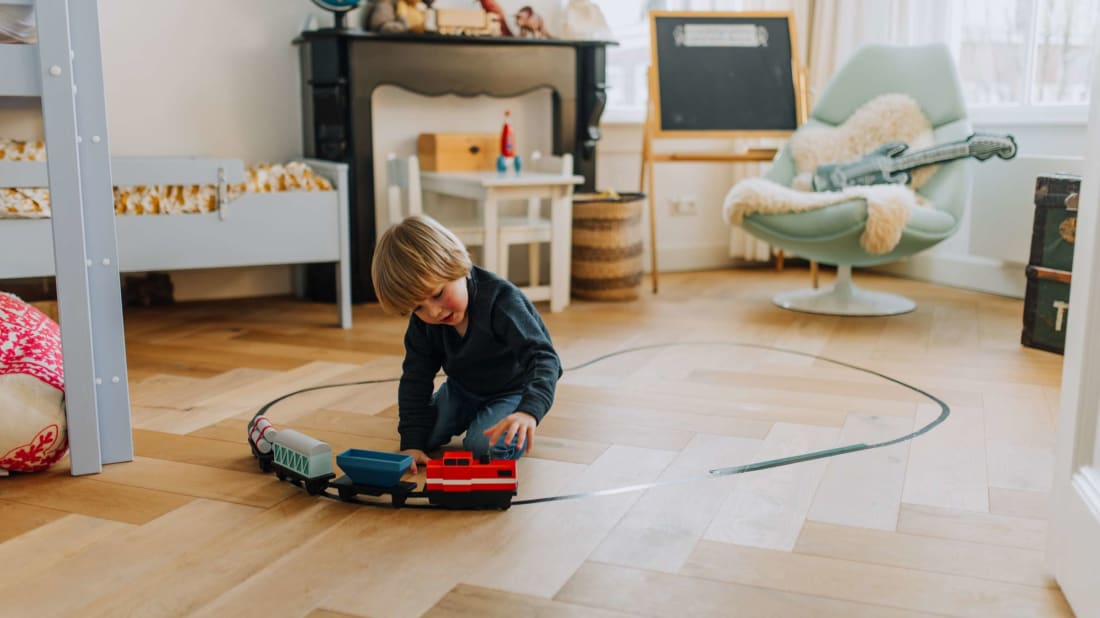 The LoCoMoGo Train teaches kids coding basics without the screens.