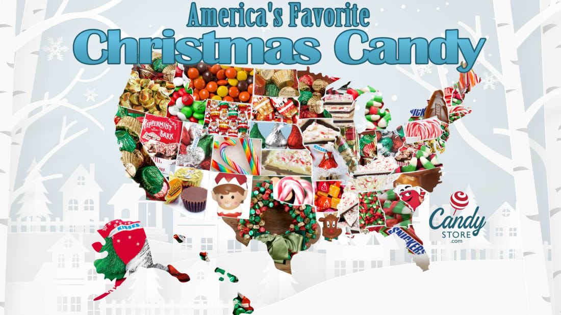 Each State's Favorite Christmas Candy