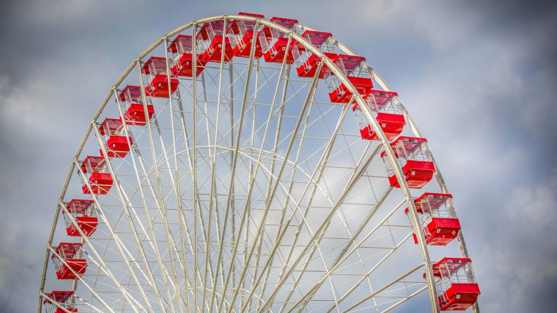 Chicago is the birthplace of the Ferris wheel.
