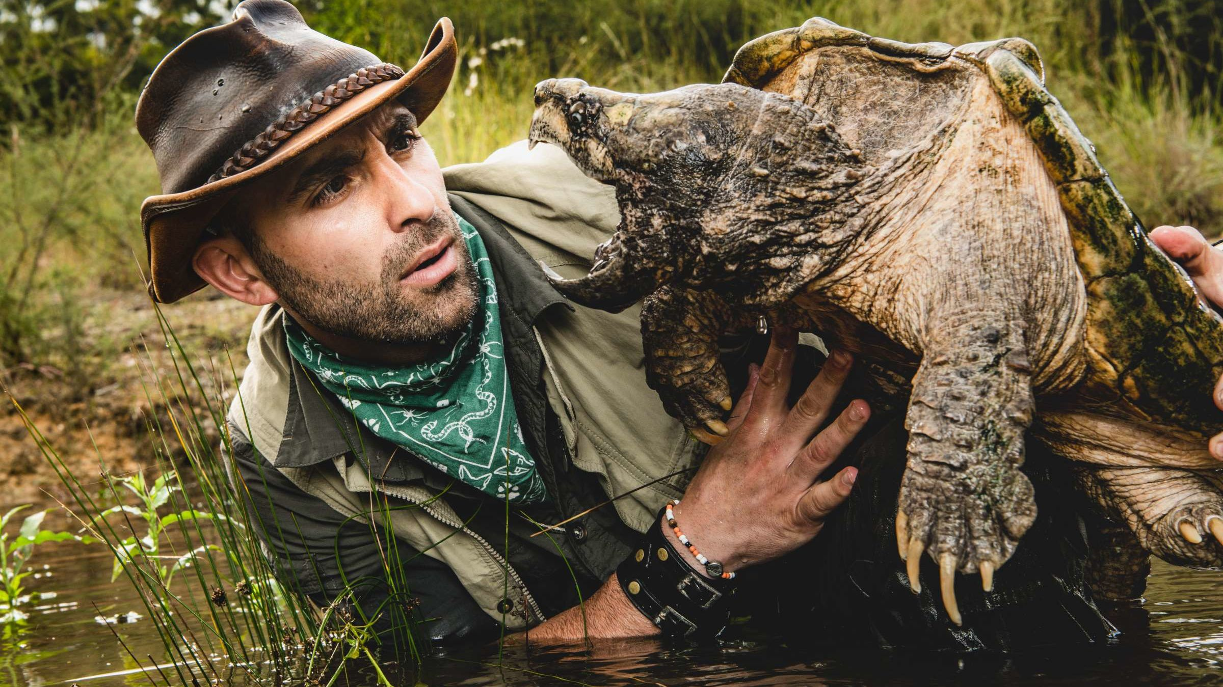 YouTube Star Coyote Peterson Brings 'Misunderstood' Animals to His New Animal Planet Series