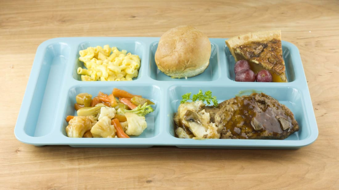 School lunches have changed a lot in a century.