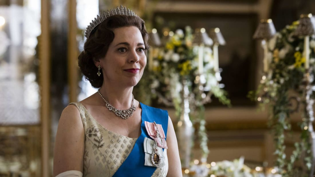 Olivia Colman stars in season 3 of The Crown.