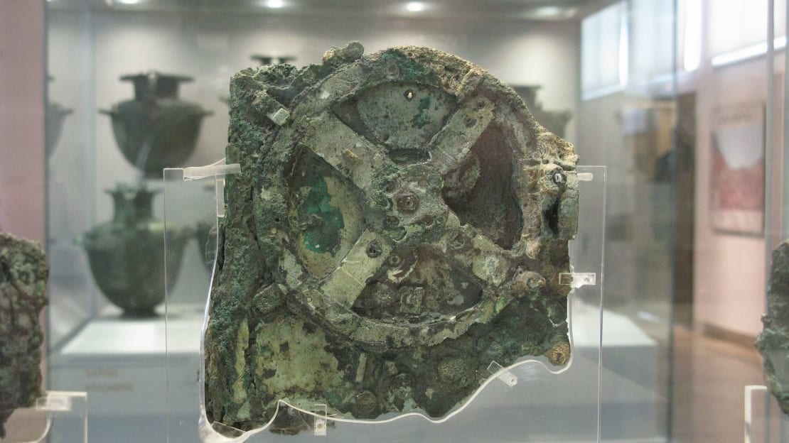 The Antikythera Mechanism is in the collection of the National Archaeological Museum in Athens, Greece.