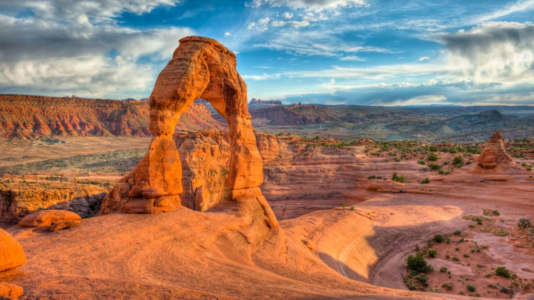 Utahraptor State Park will be located on land nearby Arches National Park, pictured here.