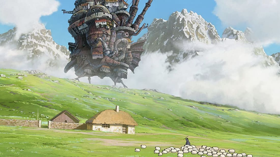 Howl's Moving Castle, from the 2004 Hayao Miyazaki film, will be brought to life at Japan's new Studio Ghibli theme park.