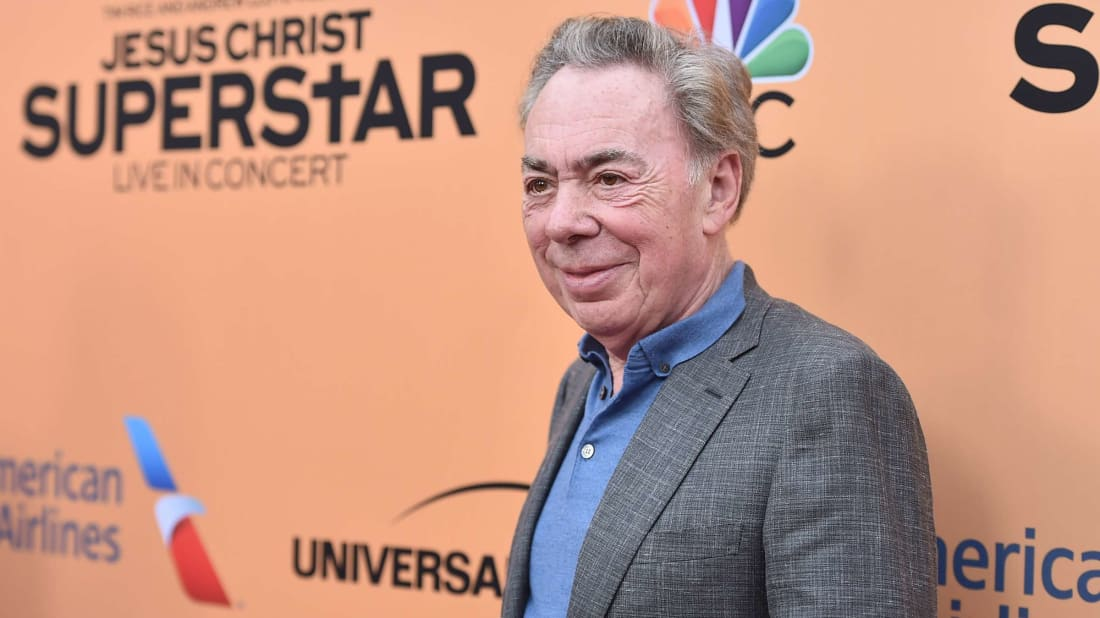 Broadway legend Andrew Lloyd Webber in 2018.