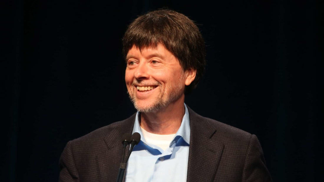 "Ken Burns, namesake of iMovie's ""Ken Burns effect,"" during a press tour in 2014."