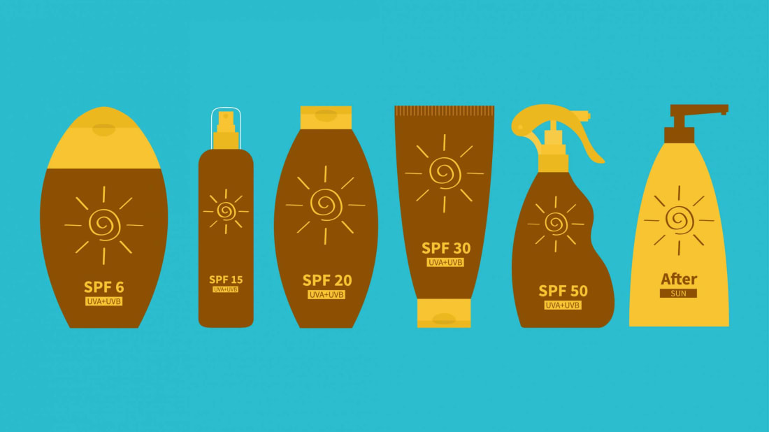 Sunscreen is your skin's best friend.