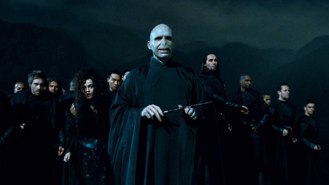 Ralph Fiennes Went Off Script as Voldemort for One Memorable Harry ...