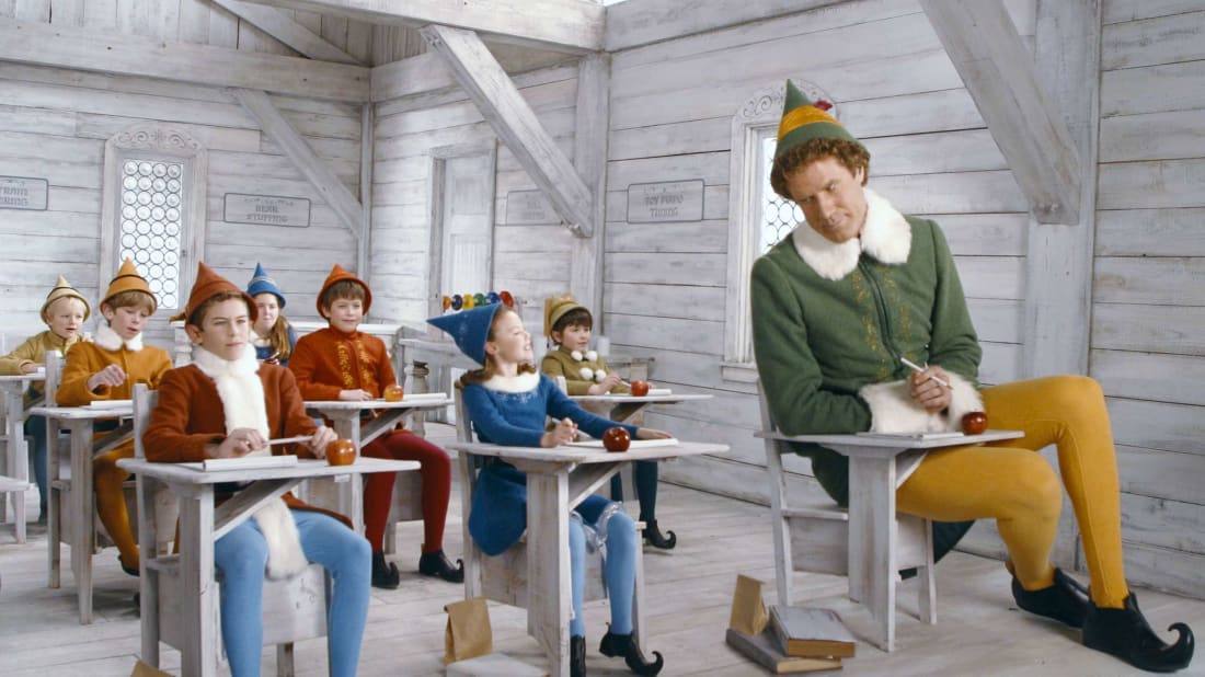 Will Ferrell in Elf (2003).
