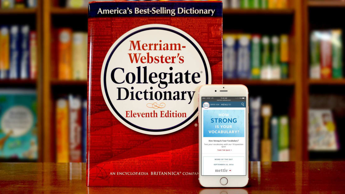 Joanne K. Watson/Merriam-Webster via Getty Images