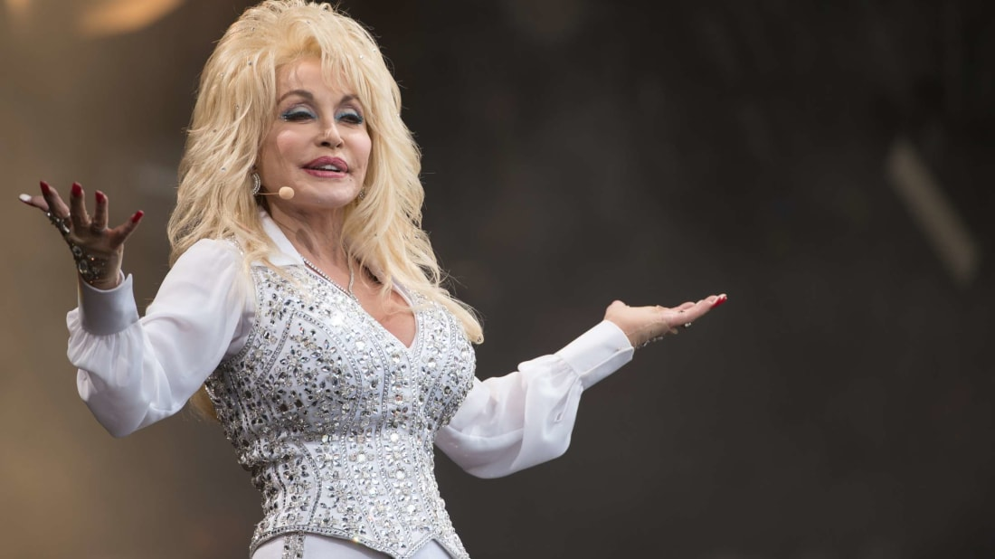 Let Dolly Parton read you a bedtime story.