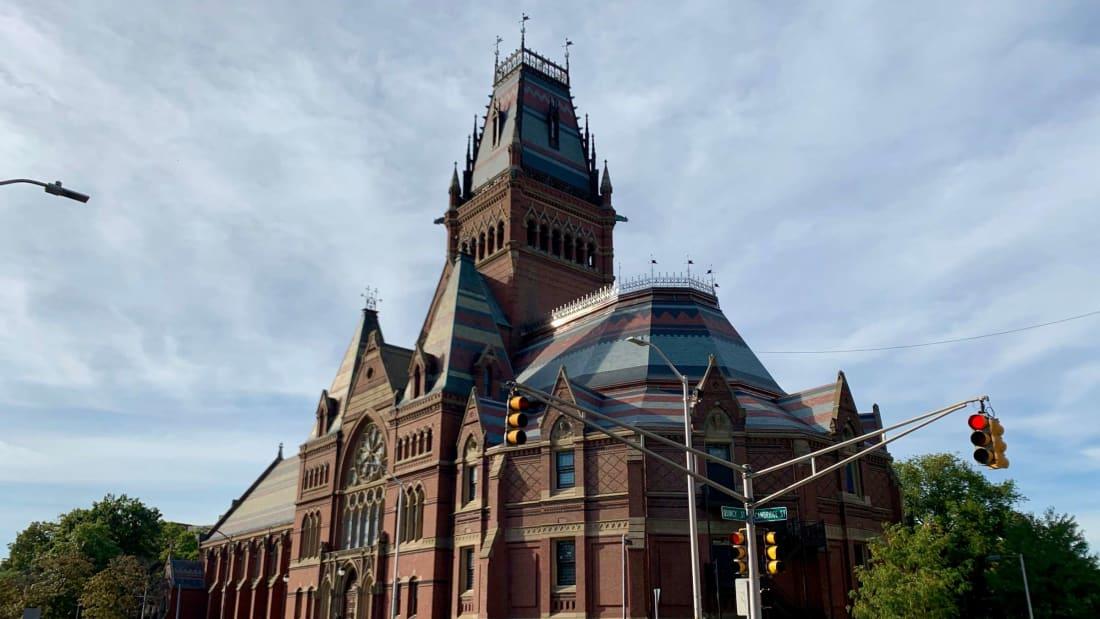 Harvard University's Memorial Hall.