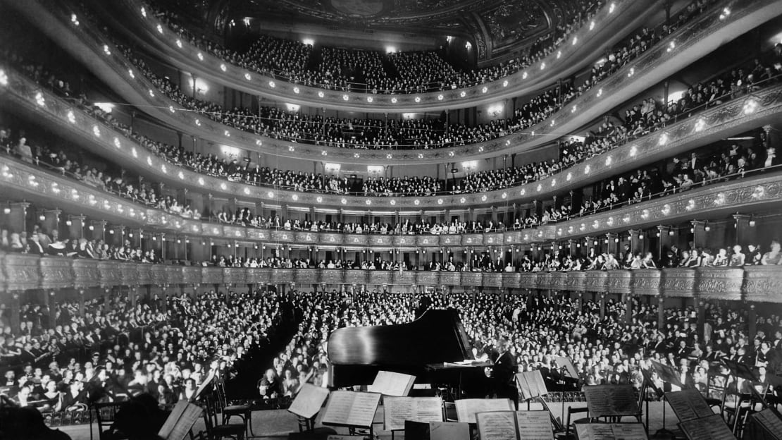 Fortunately, nobody incited a stampede at New York's Metropolitan Opera House on this night in 1937.