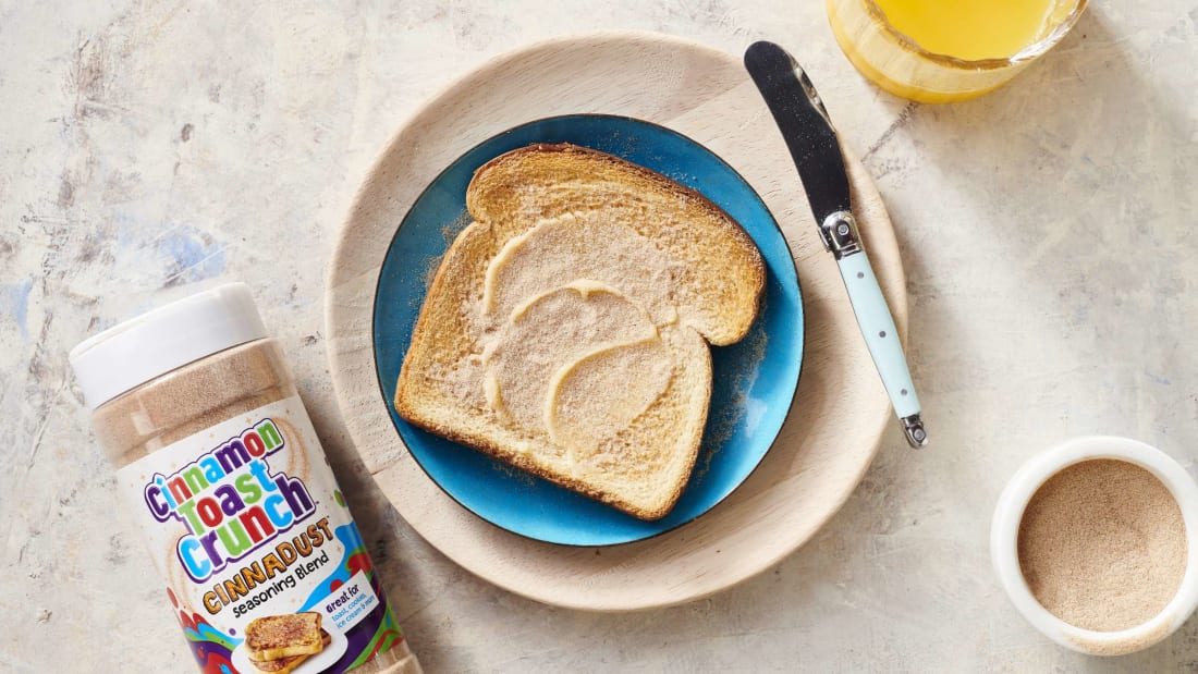 Finally, your cinnamon toast can taste as delicious as the cereal it inspired.