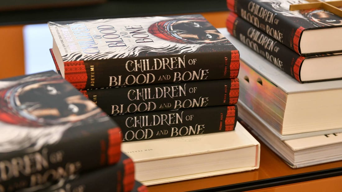 Tomi Adeyemi's Children of Blood and Bone is on the list, and for good reason.