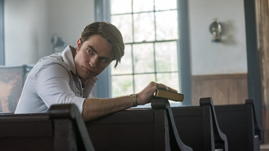 Robert Pattinson in The Devil All The Time (2020).