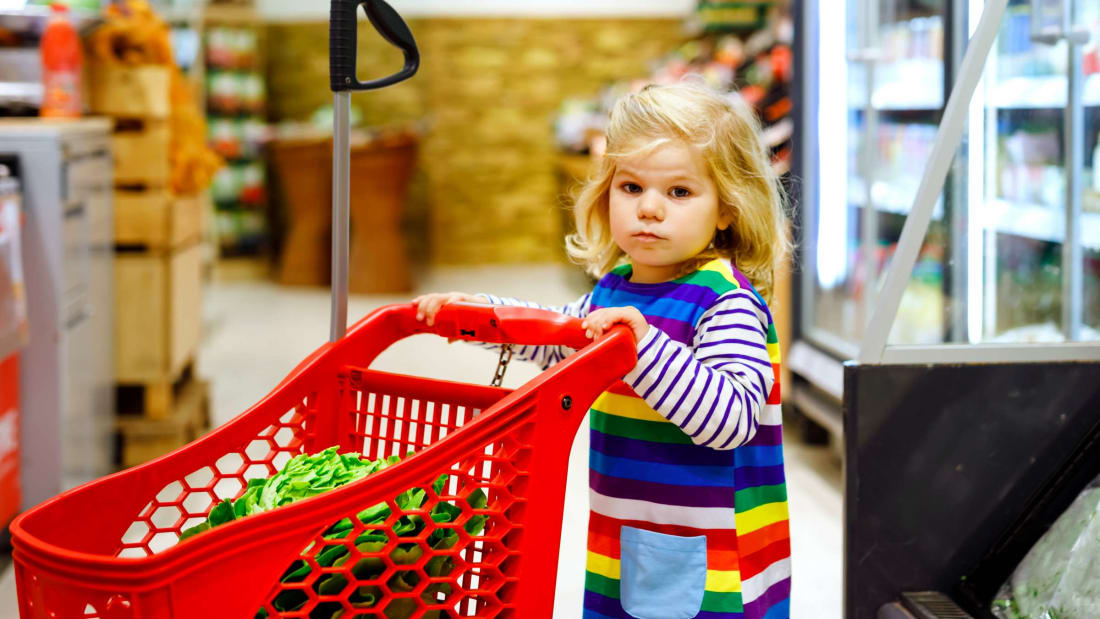 The Smart Reason Grocery Stores Offer Pint-Sized Shopping Carts for Kids