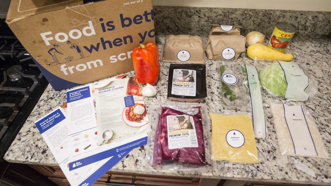 Blue Apron's meal plans can be adjusted to meet your nutritional needs.