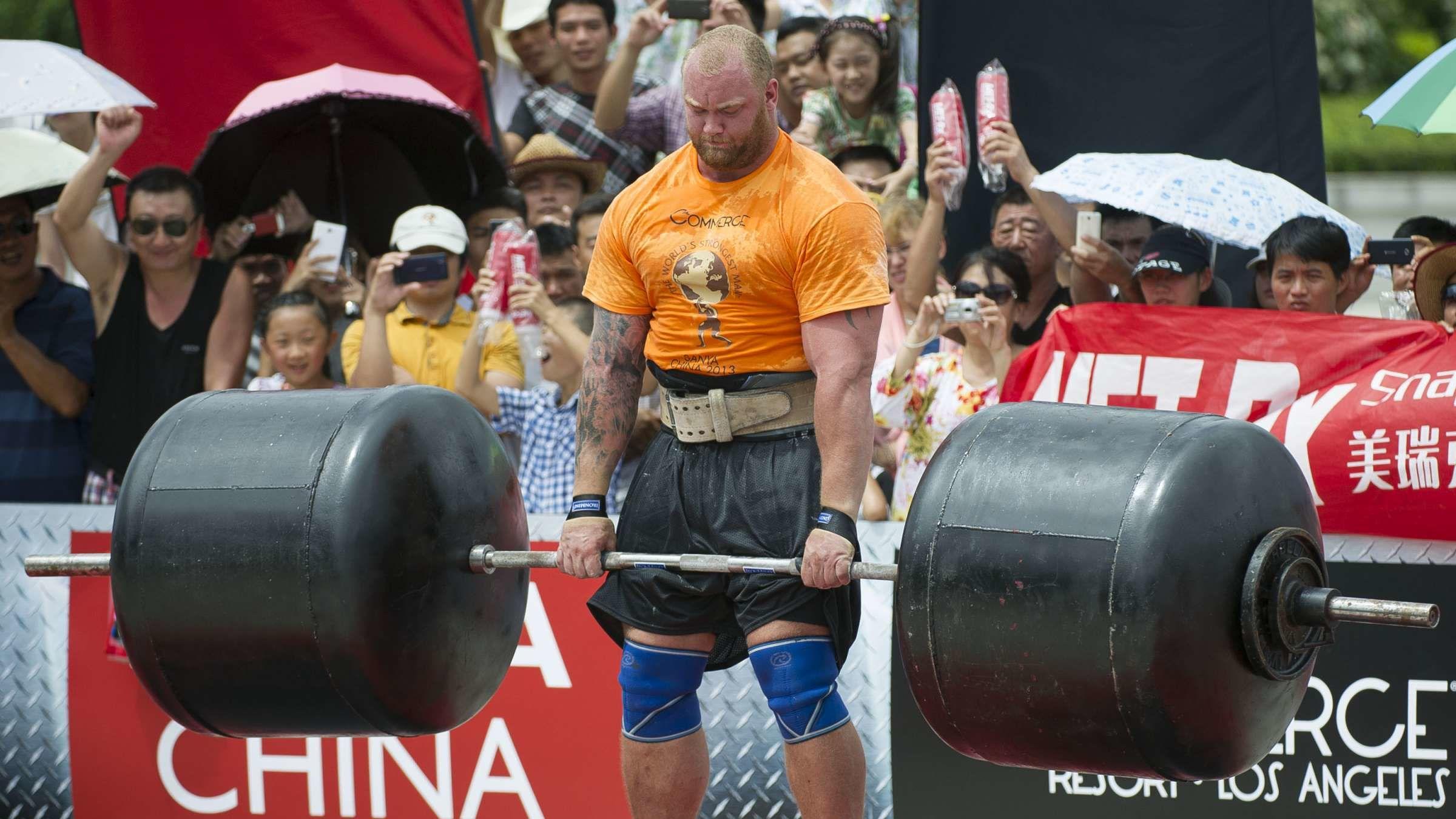 Game of Thrones's Hafþór Björnsson Broke a Major Deadlifting World Record