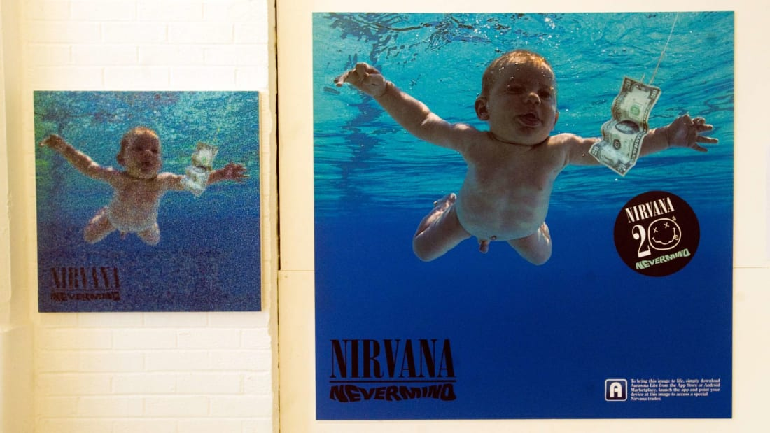 Nirvana artifacts and exhibits are seen at the opening of 'In Bloom: The Nirvana Exhibition,' a 2011 exhibition in London.