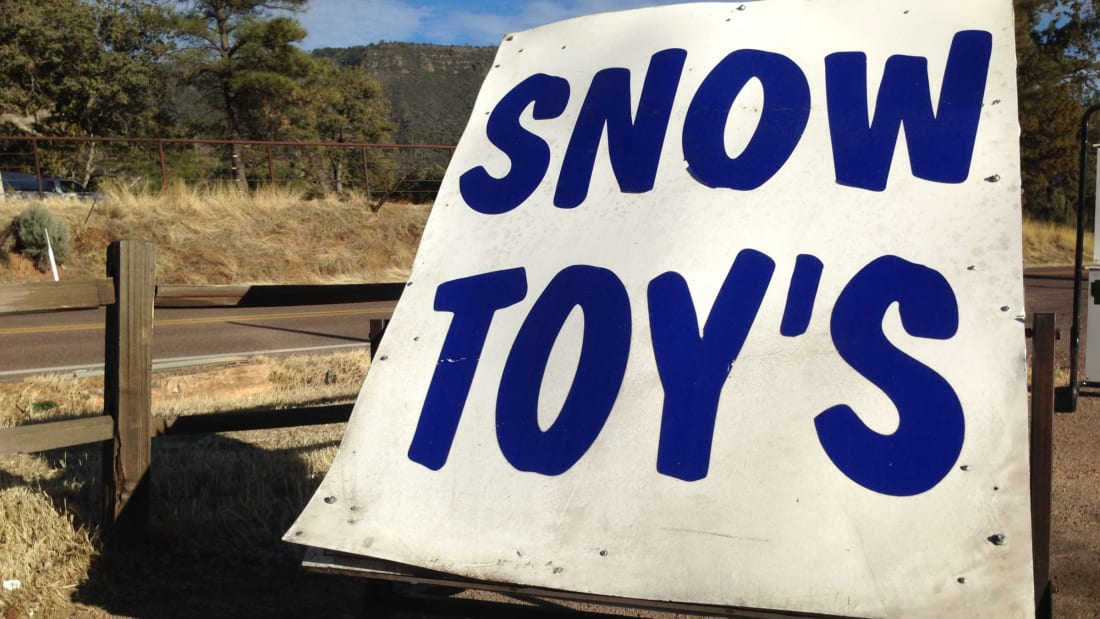 Snow toy's what?