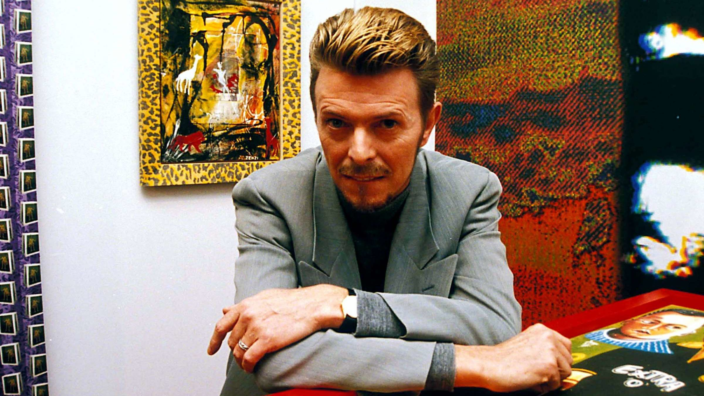 A Painting by David Bowie Bought at a Thrift Store for $4 Will Sell for More Than $60,000