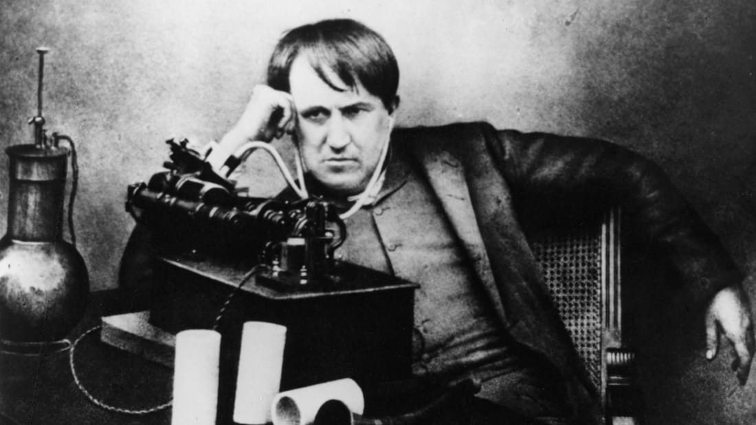 Sadly, Congress voted 'No' on using Thomas Edison's voting machine.