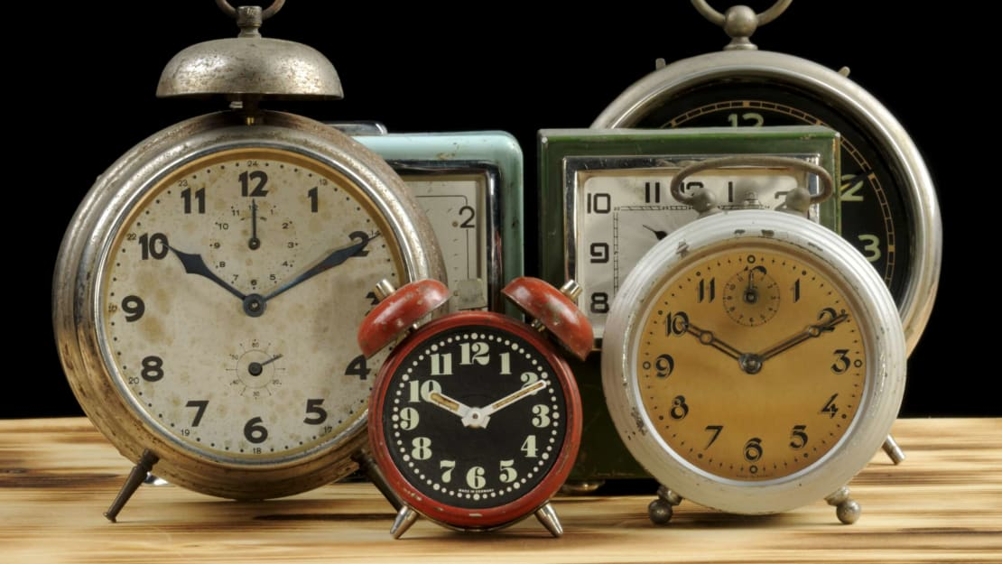 There's a reason new clocks are so often set around 10:10.