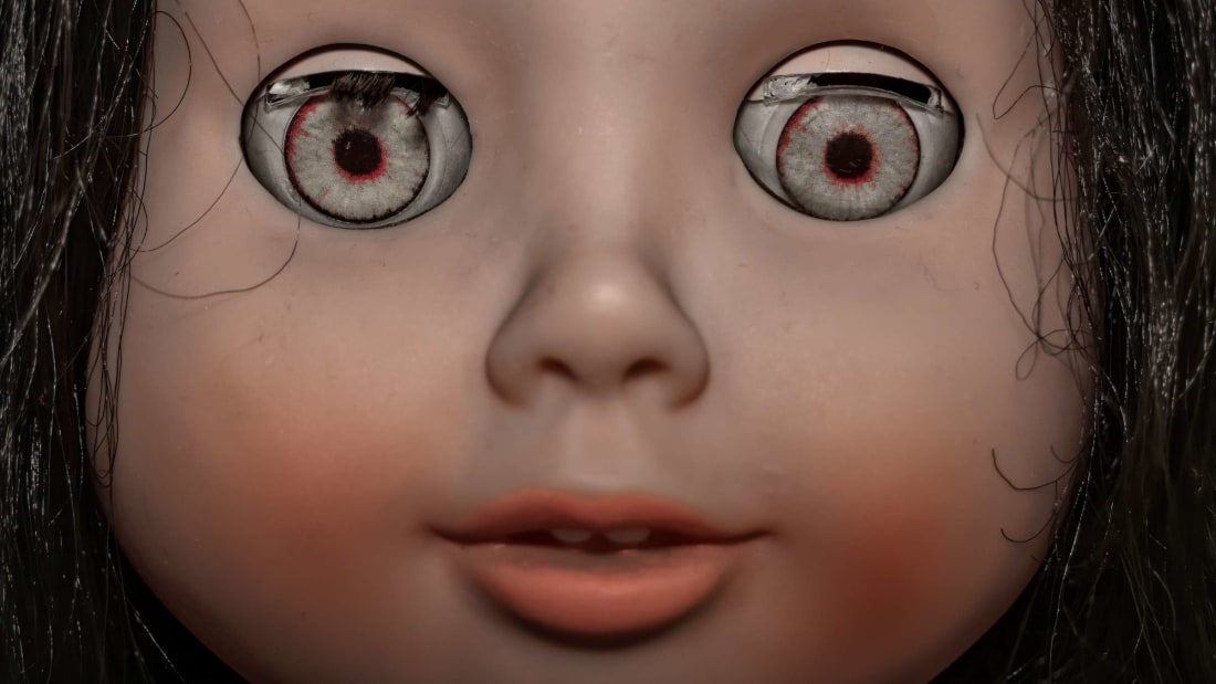 Buying or selling a haunted doll is not mere child's play.