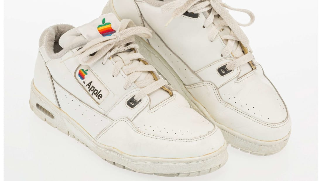 Apple's Adidas sneakers from the 1990s.